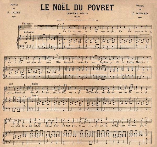 Vieux papier note de musique